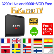 IPTV France IPTV Italia Spain A95X R1 Android TV Box Free 1 Month IPTV Portugal Canada IP TV Turkey Arabic IP TV Europe IP TV