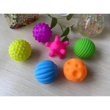 Children's Toys for newborn Textured Multi ball tactile senses touch hand ball toys baby training Massage soft balls 4 & 6 pcs