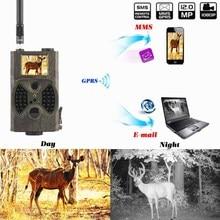 Selvagem Caça Câmera de Vigilância Trail Camera Foto Armadilhas de Caça Câmera MMS GSM GPRS Segurança Câmera de 12mp 1080 p foto armadilhas
