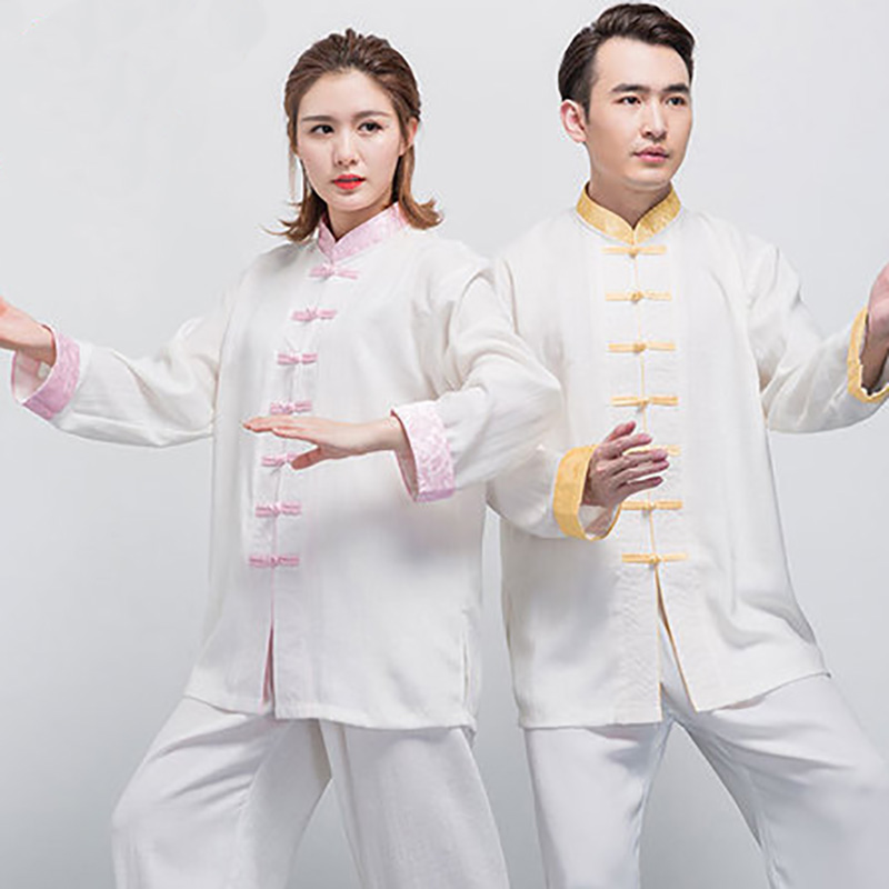 USHINE HM01 Unique Design Chinese Style Underwear Tang Suit Martial Arts Tai Chi KungFu Uniform Suits Wushu Apparel