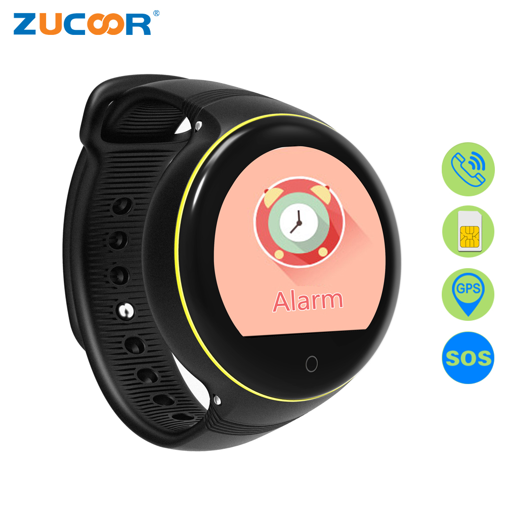 ZUCOOR Children's Smart Watch Children GPS Tracker Watches RW63 SOS Call Relogio Smartwatch For Baby Monitor Anti-lost Girl Kid children sos smart watch phone gps locator tracker anti lost cartoon smartwatch child guard for android ios gsm wifi tracker kid