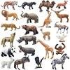 Animal Toy Wildlife Figure Animal Model Children Educational Props Kids Present Cartoon Figurine Tigers Lions Elephants
