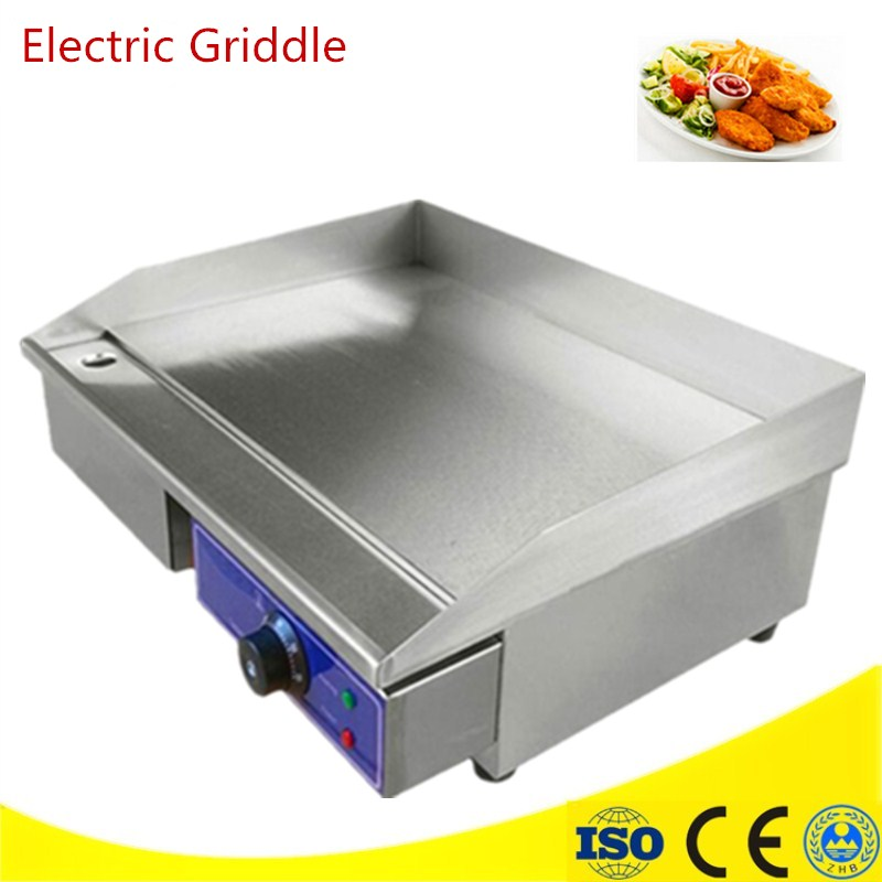 Commercial Flat Griddle For Sale Commercial Stainless Steel Electric Griddle 3KW/220V All Flat Pan Electric Grill 6 4 4m bounce house combo pool and slide used commercial bounce houses for sale