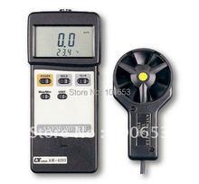LUTRON Цифровой Анемометр AM-4203 флюгер ветер speed meter 0.4-25 м/с anemometro anemometro цифровой