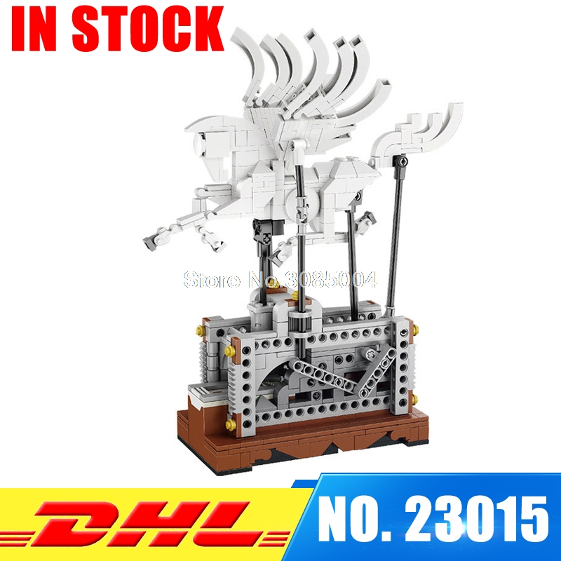 цены In Stock Lepin 23015 485Pcs Science and technology education toys Educational Building Blocks set Classic Pegasus Toys Gifts
