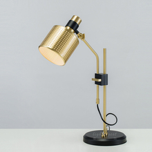 study table lamp Modern post modern metal style creative living room bedroom study room model room personality table lamp