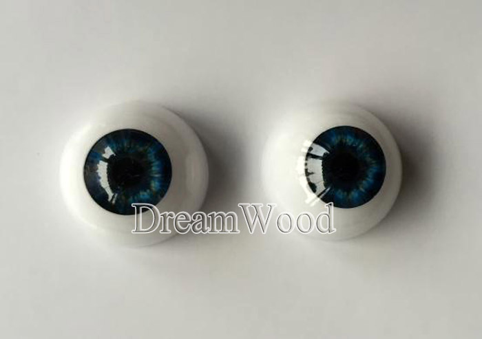 Reborn Doll Eyes one Pair 22mm suit for 20 22 reborn babies doll Accessories Blue color eyes for toys hardy t a pair of blue eyes пара голубых глаз роман на англ яз