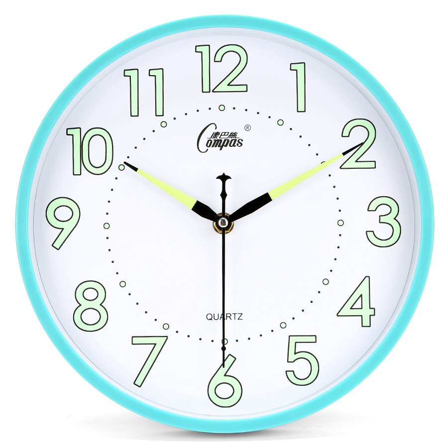 10 Inch Luminova Quartz Clock Movement Silent Kids Wall Clock Modern