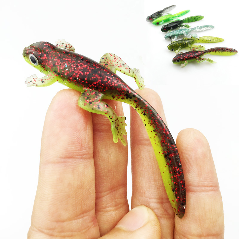 3pcs 3.8g/7.7cm Handmade Soft Bait Fish Fishing Lure Shad Manual Silicone Bass Minnow Bait Swimbaits Plastic Lure Pasca 167 mix color package on soft lure 15 cm shad bait soft bait for boat fishing
