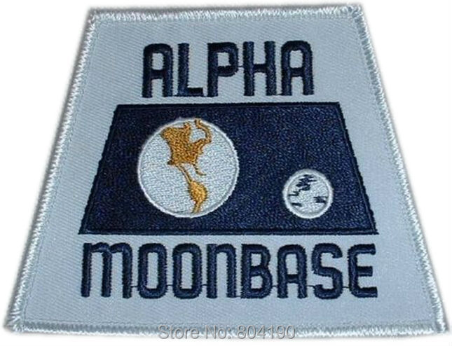 3 5 Space 1999 TV Series ALPHA MOONBASE MOVIE TV Series Embroidered Emblem applique sew on