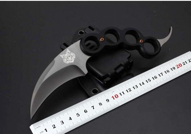 Small font b Tactical b font font b Knife b font Karambit Hunting Fixed font b