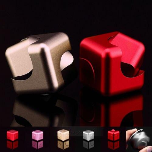 Cube Dice EDC Fidget Hand Finger Spinner Fingertips Gyro Toys Party Favor
