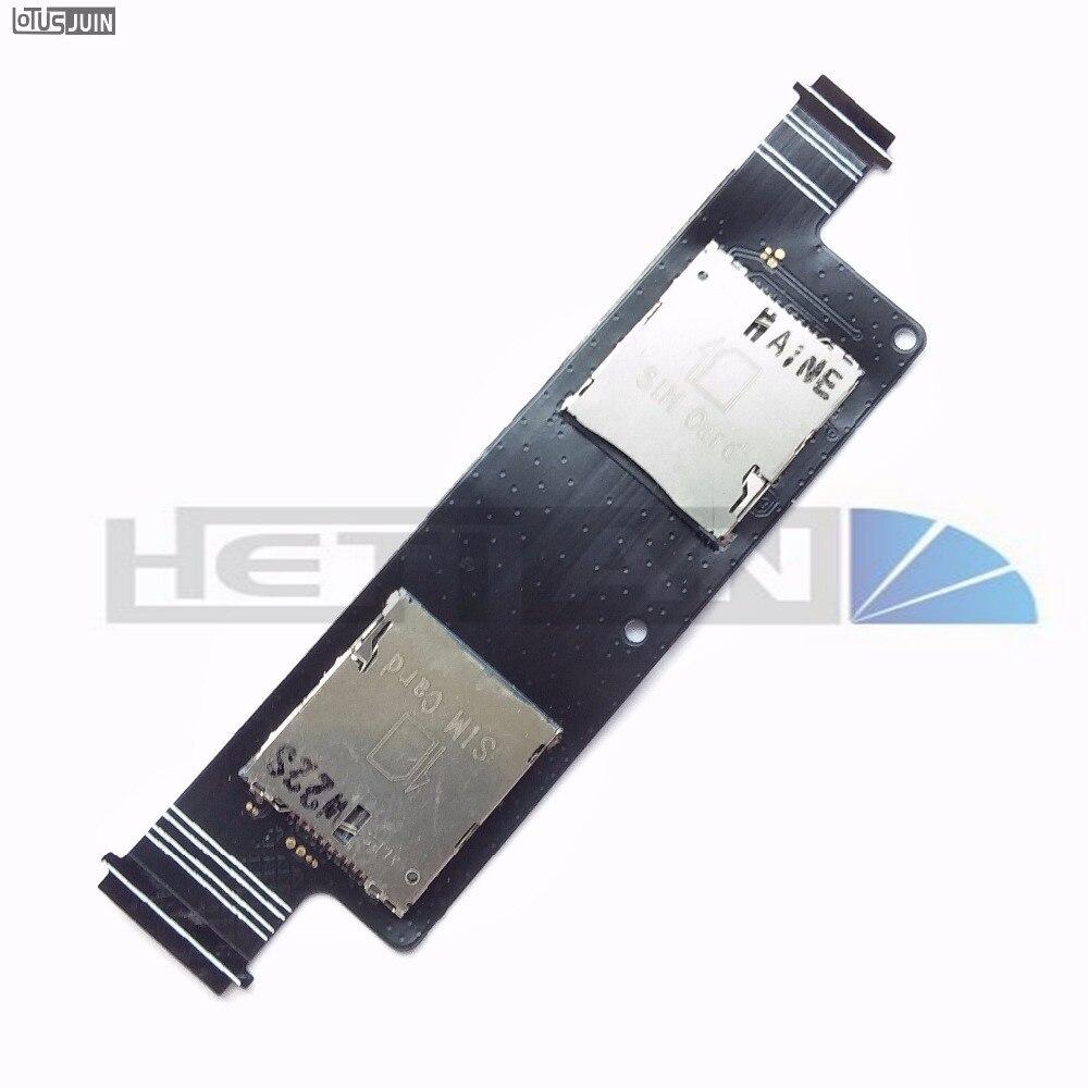 10pcs New For Asus zenfone 4.5 A450CG SIM Card Reader Holder Connector Slot Socket Mobile Phone Sim Cards