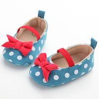 Wholesale Lovely Baby Shoes Newborn Baby Shoes Boys Girls First Walkers Infant Toddler Soft Bottom Anti-slip Prewalker Shoes