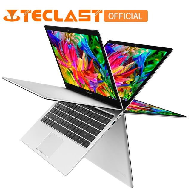 "Teclast F6 Pro 13,3 ""ноутбук Intel Core m3-7Y30 Dual Core 8 ГБ Оперативная память 128 ГБ SSD Windows10 вращающийся отпечатков пальцев распознавание Тетрадь"