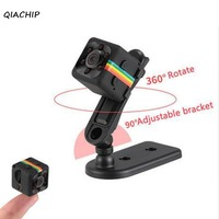 QIACHIP 2017 Mini Kamera SQ11 HD Camcorder HD Nachtsicht Mini Cam 1080 P Luft Sport Mini DV DVR Voice Video Recorder