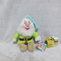 Белоснежка 28 см Плюшевые игрушки семь гномов Sandman Sleepy куклы фестиваль подарок подарки для детей