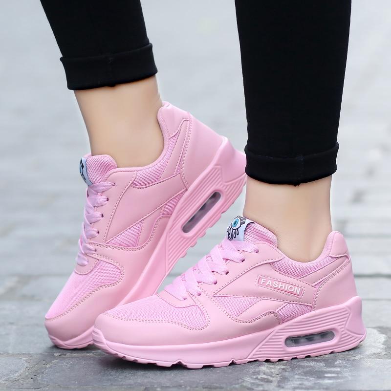 Mujeres Nuevas Zapatos white sky Plataformas Creador 2019 Black Blue Aire Malla Pisos De Primavera Fabricante pink red Y Mujer Zapatillas Transpirable Las Tenis EBtE5qzw