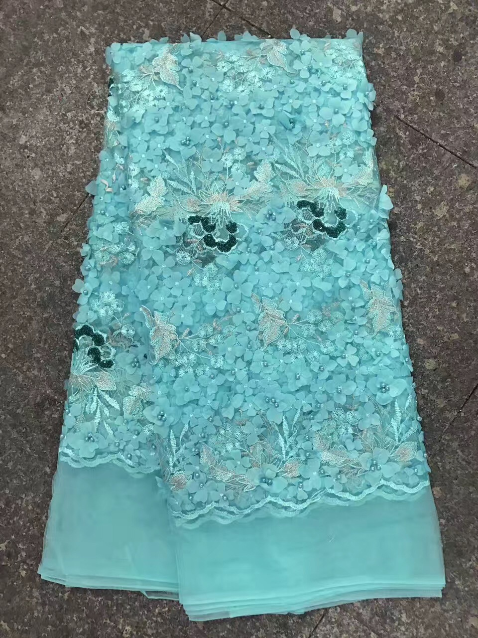 Indian Lace Fabric D1075 Latest Nigerian Beaded Laces 2017 For Wedding Tulle Lace Fabric Swiss Voile Lace In Switzerland