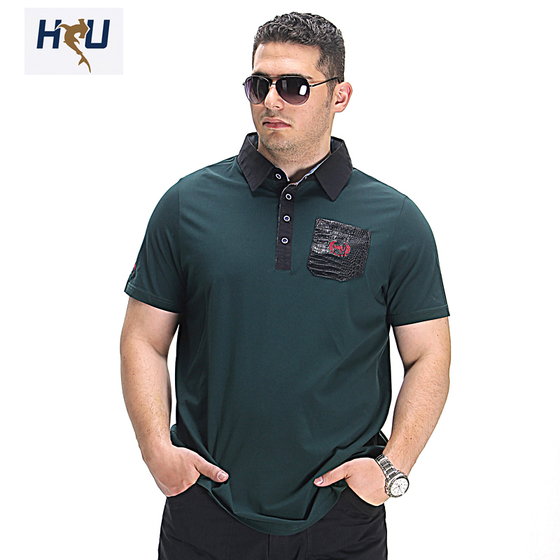 summer new big size men polo shirts italian design man