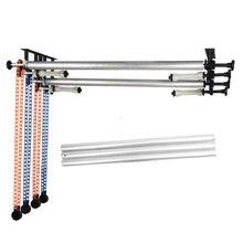 Photo Studio 3 Rullo/4 Manuale Roller Sfondo Ascensore + Cross Bar Tubo di Sfondo Parete Soffitto Supporto di Montaggio Sollevatore kit