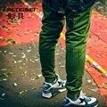 Большой размер S-4XL свободного покроя марка мужские беговые брюки хип-хоп широкий брюки военные бегунов мода шаровары мужчины кататься штаны