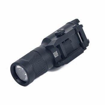 Torcia Laser Combinata Per Pistola | AIMTIS Tattico X400V Pistola Luce Combo Laser Rosso Costante/Momentaneo/Strobe Uscita Arma Pistola Del Fucile Torcia Elettrica