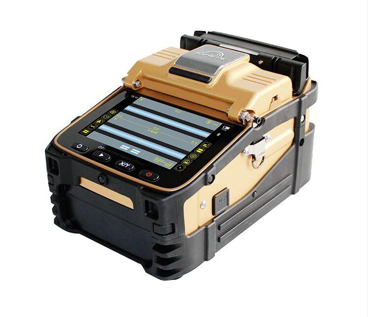 signal fire SM MM FTTH Fiber Optic Welding Splicing Machine Optical Fiber Fusion Splicer AI 8C