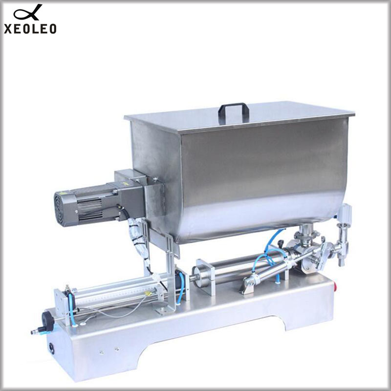 XEOLEO Paste Filling machine 60L Food Filling machine Air pump Stainless steel Paste filler Mix for Peanut butter/Chili sauce