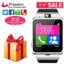 {Erste unterstützung NFC} Aplus GV18 Smart Watchfor smartphone bluetooth mit Kamera Android uhr Telefon unterstützung sim-karte Smartwatch