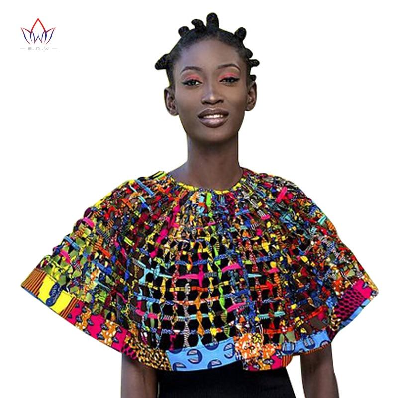 2019 Ankara africain Net colliers col châle femmes vêtements accessoires africain multibrin collier Hademade bijoux SP004