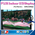 16pcs 20x20inches P3.91 led display panel 64X64pixel 1/16scan 2121SMD RGB led panel indoor rental 4square meter led video wall