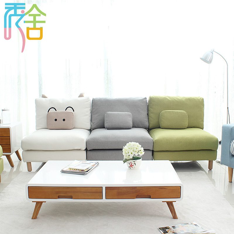 Show Homes White Paint Wood Coffee Table Nordic Creative Modern Minimalist Small Apartment Living Room End IKEA In Bar Tables From Furniture On
