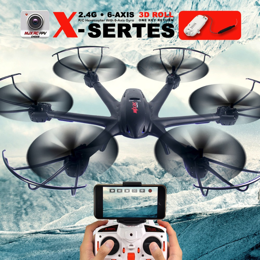 MJX X600 RC Quadcopter 2.4G 6-axis Drone Headless Mode can add FPV C4015 C4018 WIFI Drone with Camera RC Helicopters Toy VS X5UW