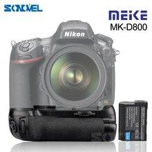 Meike MKD800 MK D800 Battery Grip for Nikon D800 D810 D800E as MB D12 +1* EN EL15 Battery