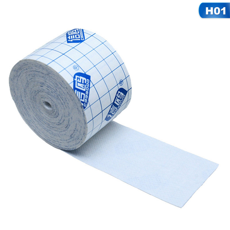 1 Roll Waterproof Transparent Adhesive Wound Dressing Medical Fixation Tape Nonwoven Fabrics Bandage