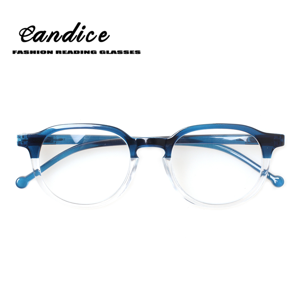 064c7b3f58 2018 New fashion reading glasses for men and women spring hinge translucent eyeglasses  frames comfortable readers