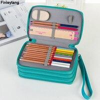 鉛筆ボックス用スクール大容量puペンケース72カラータッチカーテン学生鉛筆バッグ文具箱スーツ配信アート