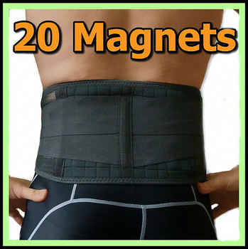 Back Brace Support Belt Men Medical Corset Back Lumbar Support 20pcs Magnets Massager Waist Protection Magnetic Theropy AFT-Y020 - DISCOUNT ITEM  15% OFF All Category