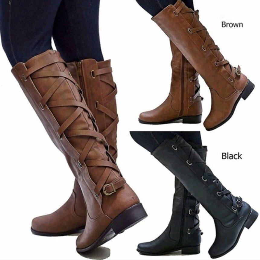 Chaussures pour femmes bottes de mode bottes pour enfants bottes Martin bottines en cuir locomotive au genou