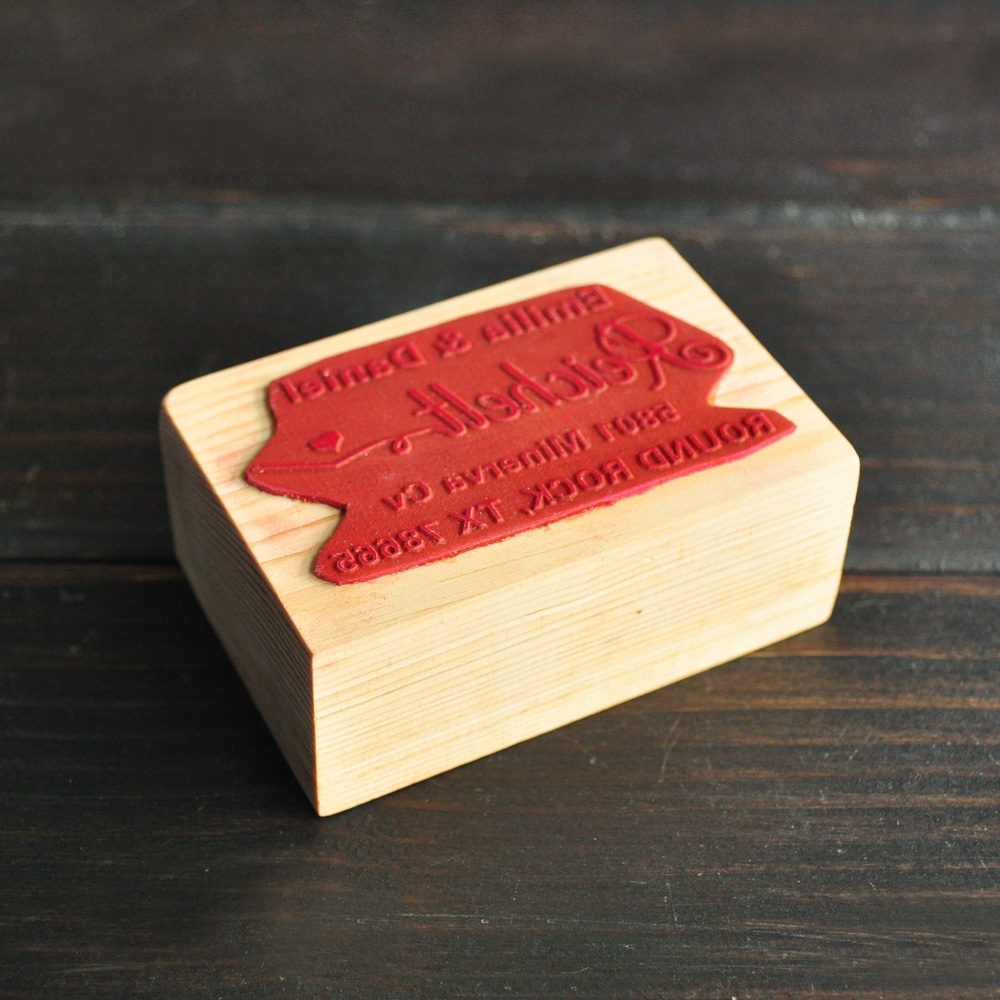 Aliexpress.com : Buy Personalized Wedding Stamp,Custom Wood Stamp ...