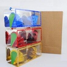 Большой размер супер Delux бумажный пакет появляющийся цветок из пустой коробки сценические фокусы мечта сумка Большая иллюзия Магия подарки детям