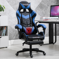 Electric Computer Seat Home Simple Lifting Office Gaming Chair Competitive Seat Game Chair Reclining Rotary Seat Back adjust