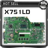 FOR ASUS X751LD X751L K751L K751LN X751LN Laptop Motherboard W I5 4200U CPU 4GB And GT820M