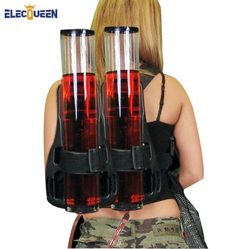 Party Life Dual Barrel Portable Backpack Beverage Drink Beer Alcohol Dispenser Backpack Dispenser
