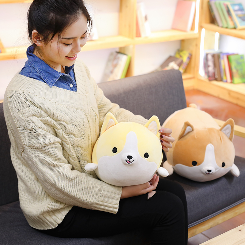 de pelúcia recheado macio animal travesseiro adorável