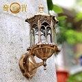 Европейский открытый сад вилла двор балкон стены водонепроницаемый открытый прихожей настенный светильник