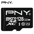 PNY Original Genuine MicroSD Card 64GB 128GB Class10 UHS1 Memory Card Flash Memory Card Micro sd TF Card for Phone Pad Camera