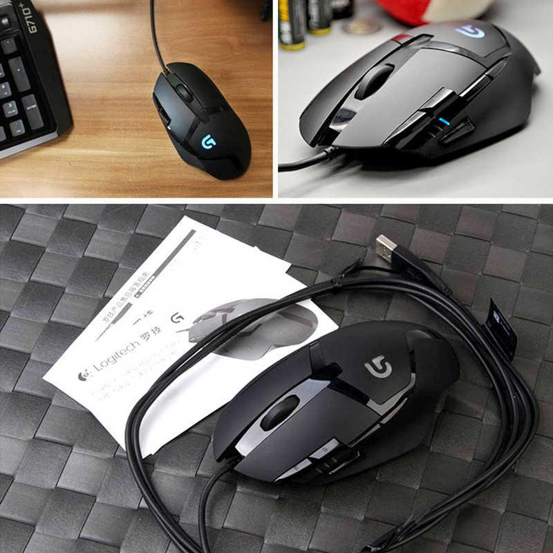 ロジクール G402 有線ゲーミングマウス光学 4000DPI デスクトップラップトップ Pc USB マウス windows 10/8/ 7 100% オリジナル