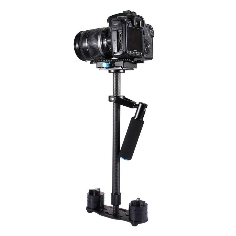 Handheld Stabilizer Carbon Fiber Max 3kg S60T 38.5-61cm Carbon Fibre Handheld Stabilizer Steadicam for Digital Video Camera DSLR ashanks mini carbon fiber handheld